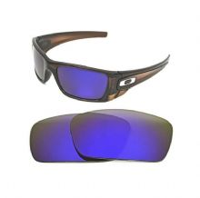 NEW POLARIZED CUSTOM PURPLE LENS FOR OAKLEY FUEL CELL SUNGLASSES